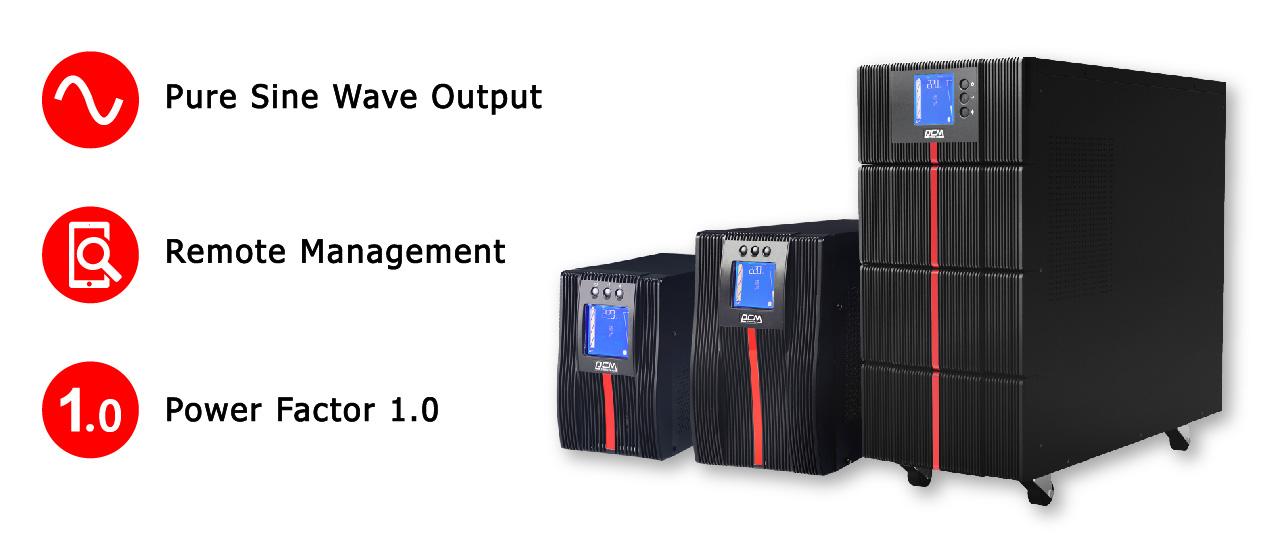 Powercom MAC 1-10 kVA